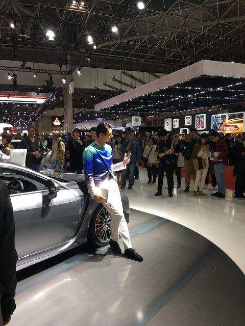 女性が●●●小僧!?2017東京モーターショーで時代の変化を痛感